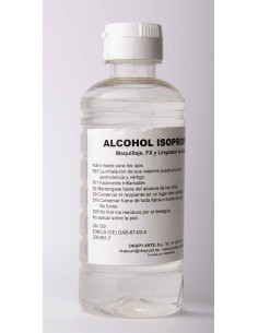 Alcohol Isopropílico de 250ML